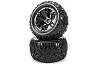 Team Magic E5 Mounted Tire 2p