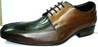 Мужские туфли классика, кожаные, Mariner коричневые. Не дорого., фото 1
