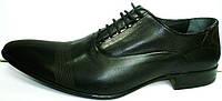 Туфли оксфорды мужские Etor черные, классика, фото 1