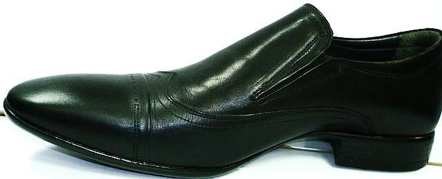 Мужские классические туфли кожаные Etor