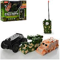 Военная машинана радиоуправлении 9189B,12,5см,1:32, сменный корпус, рез.колеса, на бат-ке, в кор-ке