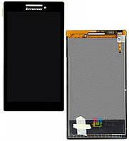 Дисплей (экран) для телефона Lenovo Tab 2 A7-10, Tab 2 A7-20F + Touchscreen Black