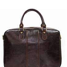 Деловая мужская кожаная сумка