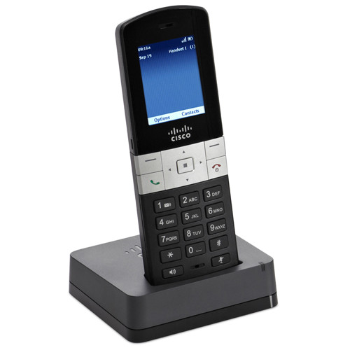 IP-телефон Cisco SB Multi-Line DECT Handset SPA302D-G7 with Base Station SPA232D-G7 (KIT) (SPA302DKIT-G7)