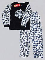 Теплая женская пижама - Boyraz снежинка
