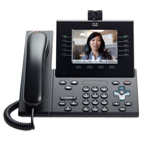 Телефон Cisco UC Phone 9951, Charcoal, Slm Hndst with Camera (CP-9951-CL-CAM-K9)