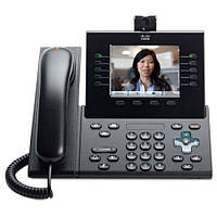 Телефон Cisco UC Phone 9951, Charcoal, Slm Hndst with Camera (CP-9951-CL-CAM-K9)