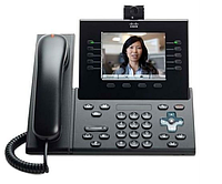 Телефон Cisco UC Phone 9951, Charcoal, Std Hndst with Camera (CP-9951-C-CAM-K9)