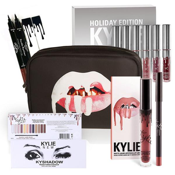 Подарочный набор косметики Kylie из серии Holiday (в стиле Кайли Дженнер)