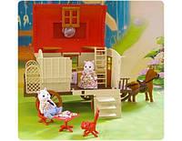 Дом на колесах Happy Family 012-05 аналог Sylvanian Families