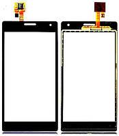 Сенсор (тач скрин) LG P880 Optimus 4X HD black (оригинал)