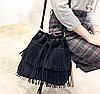 """Женская повседневная сумка """"Кантри Black"""""""