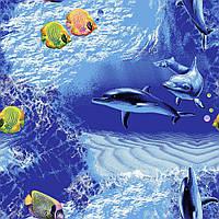 Ковер в морском стиле в детскую Океан