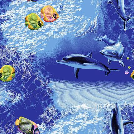 Коврик для детской комнаты на пол Океан, фото 2