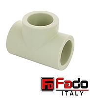Тройник PPR 40 мм полипропиленовый FADO Италия