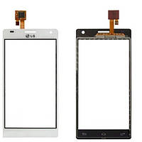 Сенсор (тач скрин) LG P880 Optimus 4X HD white (оригинал)