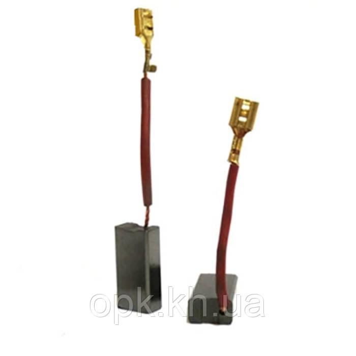 Щетки угольно-графитовые тст-н 6*10*20 мм (контакт - клемма «мама», длина провода - 35 мм, комплект - 2 шт)