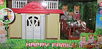 Домик с флоксовыми фигурками Happy Family (Аналог Сильванна)