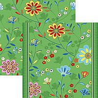 Детский ковролин Цветы 20, фото 1