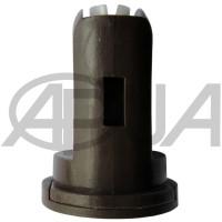 Распылитель форсунки опрыскивателя керамический компактный щелевой инжекторный 110° коричневый 05 Agroplast (Агропласт)