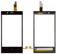 Сенсор (тач скрин) NOKIA Lumia 720 black (оригинал)
