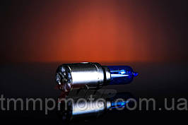Лампа фары синяя Yaben GY6 , JAWA 12V35/35