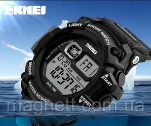 Спортивные, кварцевые, водонепронецаемые часы SKMEI