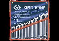 "Набор комбинированных ключей, 1/4""-15/16"", 11шт. King Tony 1211SR"