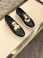 Кожаные слипоны - Dolce&Gabbana