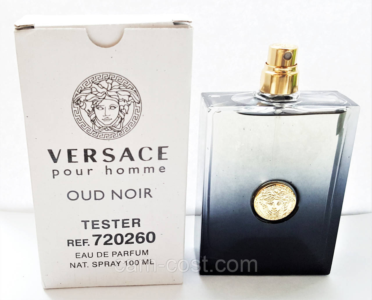 Парфюмированная вода в тестере VERSACE Pour Homme Oud Noir 100 мл ... 78b1ebf41fd78