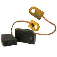✅ Щетки угольно-графитовые 5*12,5 мм (контакт - под болт, комплект - 2 шт)