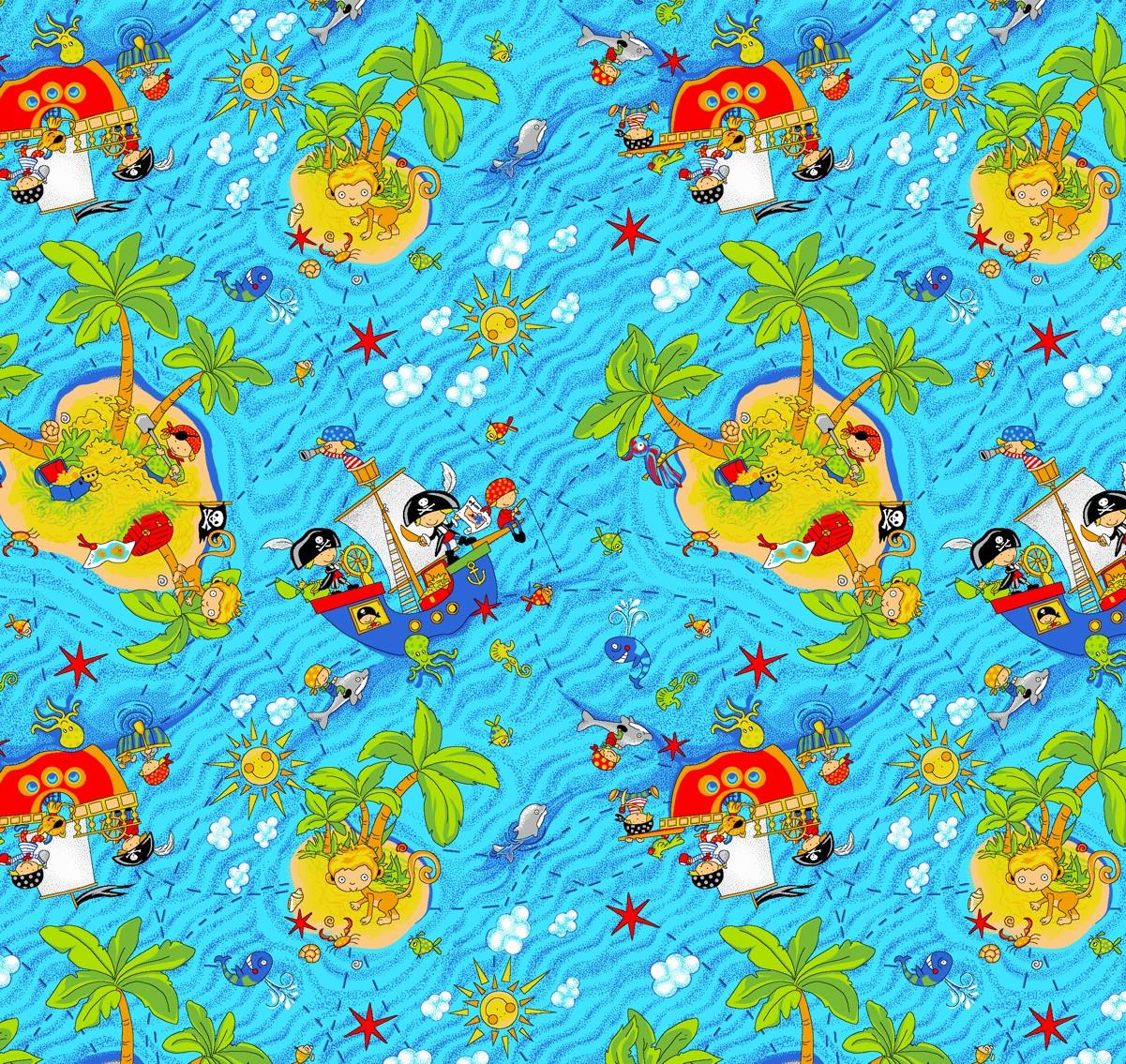 Детский ковролин Острова
