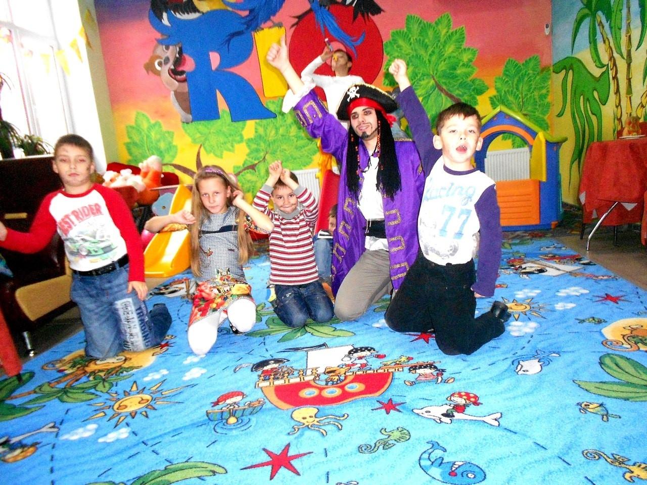 Детские ковры Пираты Острова