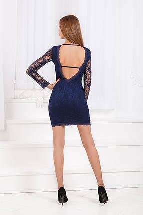 ДС344 Платье с открытой спиной, фото 2
