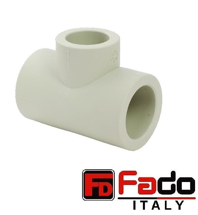 Тройник редукционный ППР FADO 75х32х75 мм
