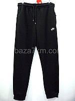 Спортивные штаны мужские оптом NIKE - Турция, ФЛИС (XL-4XL, батал), фото 1