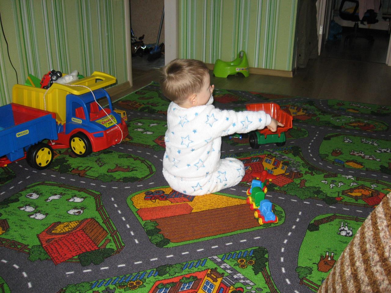 Детский коврик дорога Фарм