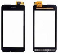 Сенсор (тач скрин) NOKIA Lumia 530 black