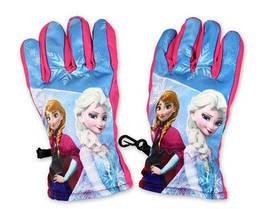 Перчатки для девочки Disney,балоньевые размеры 3/4,5/6 лет, арт. FR-A-CROLES-39