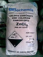 Хлорид цинка технический купить от мешка 25кг с доставкой по Украине