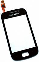 Сенсор (тач скрин) SAMSUNG S6500 Galaxy mini 2 black