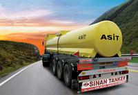 Автоцистерна для перевозки кислот SINAN / ACID TANKER