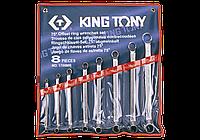 Набор ключей накидных 8шт. (6-23мм) King Tony 1708MR