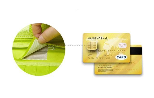 Отделение для банковских карт