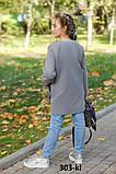 Детское кашемировое пальто с мехом на карманах рост:134,140,146,152, фото 5