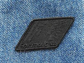 Нашивка Formula 1 , цвет  черный 60x32мм