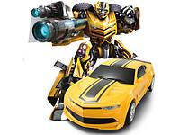 Машинка и робот одновременно трансформер р/у JQ Mighty TT671. Отличное качество. Доступная цена. Код: КГ2453