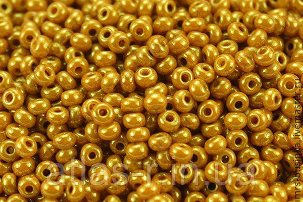 Бісер Preciosa Чехія №83119 1г, золотий перламутровий