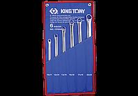 Набор ключей накидных 6шт. супердлинных прямых King Tony 1F06MRN