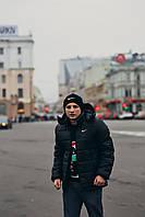 Куртка зимняя, мужская, черный